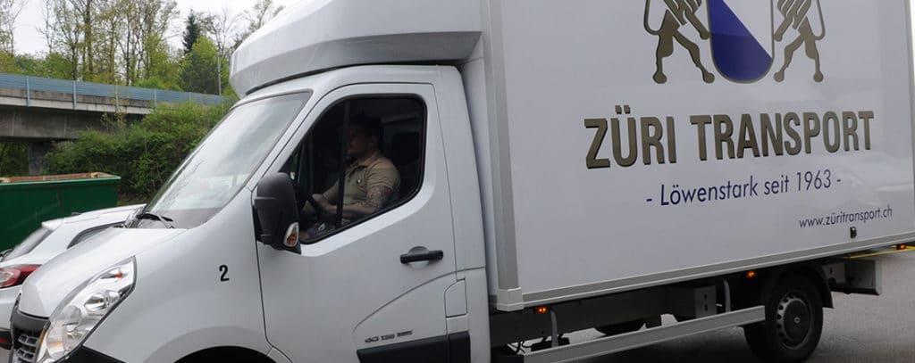 29 Umzug in Zürich